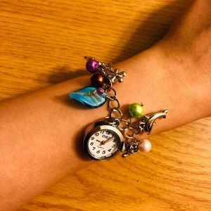 Ocean princess bracelet charm watch